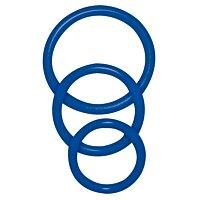 Эрекционные кольца Sexy Circles синие