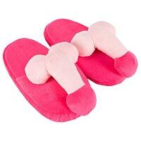 Тапочки с пенисами pink