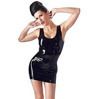 Мини-платье черное Latex