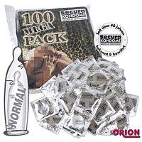 Большие презервативы Secura XXL 100 штук