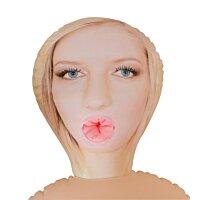 Надувная секс-кукла блондинка с большой грудью Angie